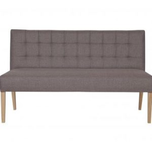 Baldai sofa dekorama Tijmen dinner sofa taupe 156cm