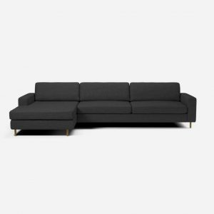 Scandinavia 4 seater sofa with chaise longue left