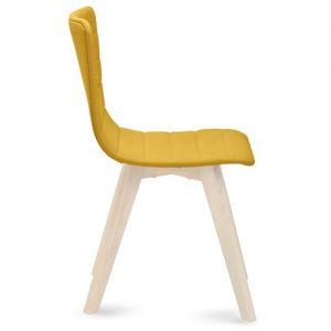 kėdė flexa-lx-chair žalia garstyčių