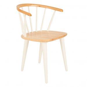 kėdė gee balta
