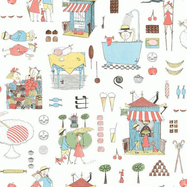 Tapetai scandinavian designers mini, 6242