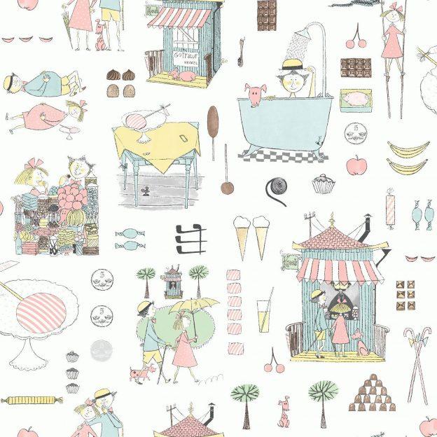 Tapetai scandinavian designers mini, 6243