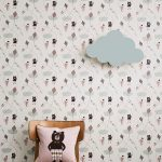 TAPETAI FERMLIVING, Kite Wallpaper - Rose interjere