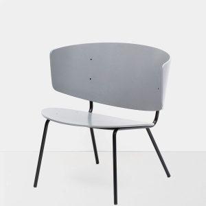 fotelis Herman Lounge Chair - Grey