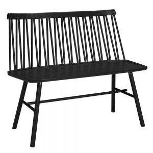 suoliukas ZigZag bench ash black 660S-40
