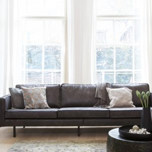 sofa Rodeo sofa 3-seater black 4