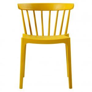 kėdė Bliss bars chair plastic ochre
