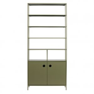lentyna Atlas metal cabinet green