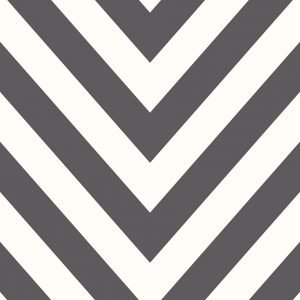 Tapetai make believe, chevron black white, 12574