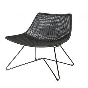 kėdė Otis armchair black 2