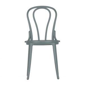 kėdė Set of 2 - bibi bistro chair plastic jade green