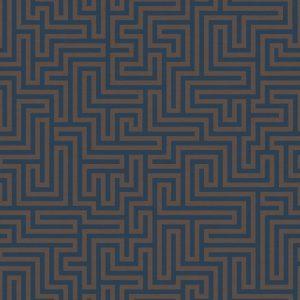 tapetai holdendecor, sakkara, labyrinth navy, 65590