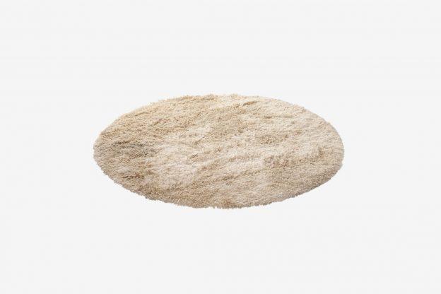 kilimas Bossa rug Ø 200 cm white