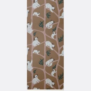 tapetai Koala Wallpaper - Mustard